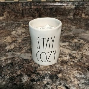 "Rae Dunn ""Stay Cozy"" Candle"